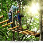 stock-photo-adventure-climbing-high-wire-park-people-on-course-in-mountain-helmet-and-safety-equipment-66901048