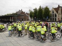 Bicycle rally Bruges-Damme