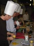 "Team-building cooking workshop ""Kokke-rellen"""